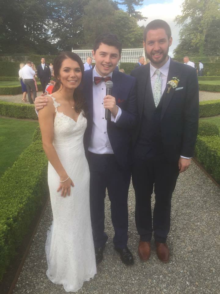 Weddings | Welcome to Conor Taggart - Swing and Jazz singer